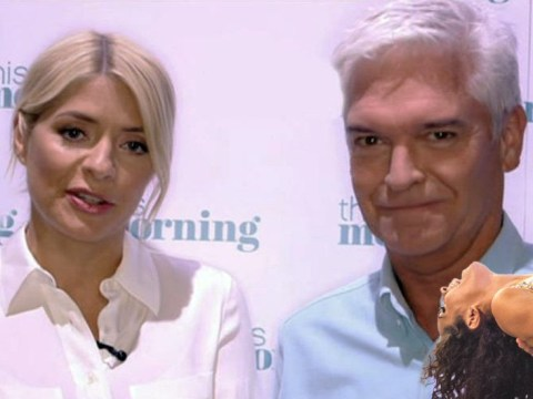 Holly Willoughby and Phillip Schofield pop up during Strictly live show to wish Dr Ranj luck