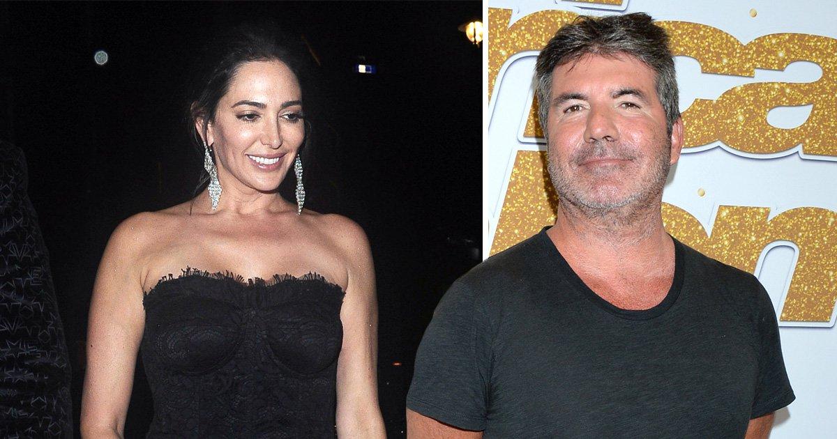 Simon Cowell's partner Lauren Silverman dazzles at wedding as X Factor judge 'ditches best man duties'