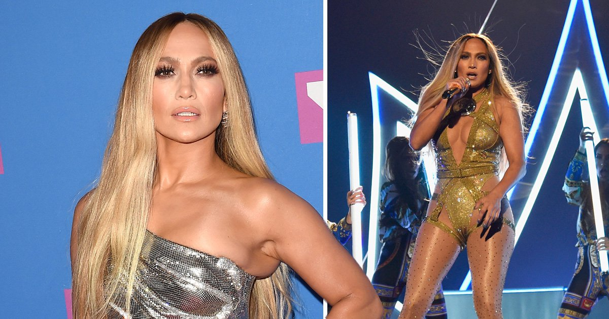 Jennifer Lopez takes a spill on Las Vegas stage, makes perfect recovery