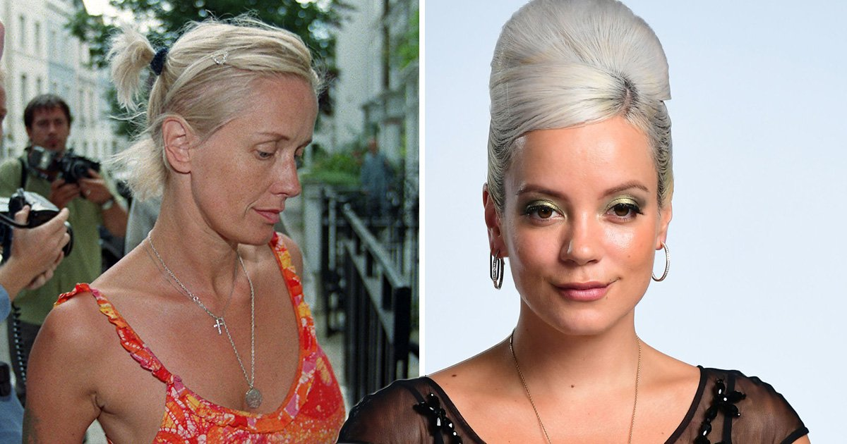 Lily Allen claims she was one of the last people to see Paula Yates alive before drug overdose