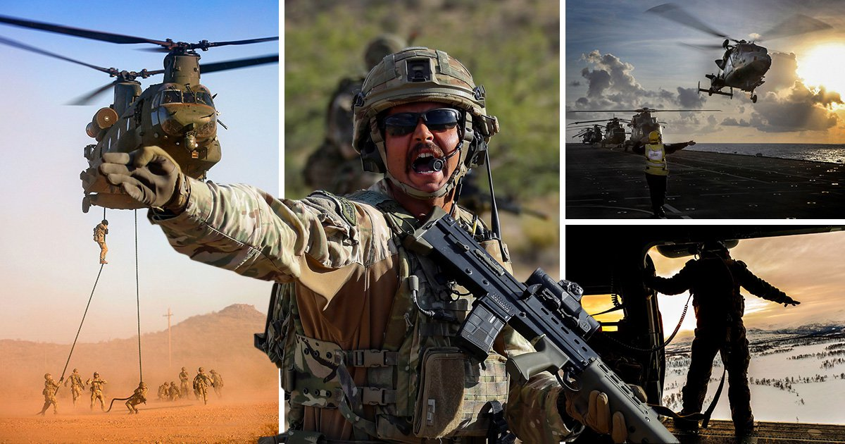 Gritty pictures show life on the front line for Royal Navy servicemen