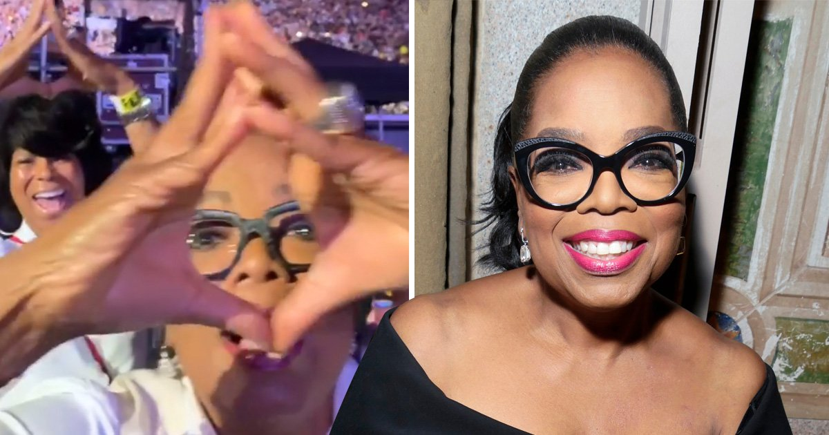 Oprah is definitely in the Illuminati as she puts her diamonds up at Beyonce and Jay-Z gig