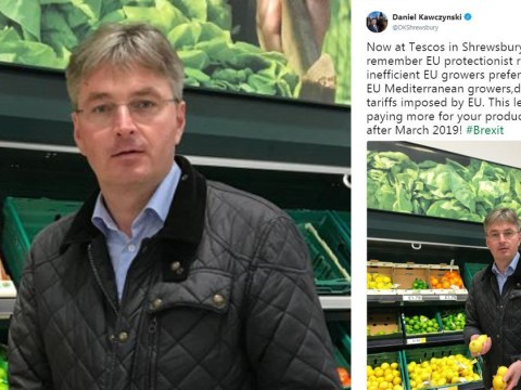 Brexit MP's tweet about foreign lemons didn't go down too well