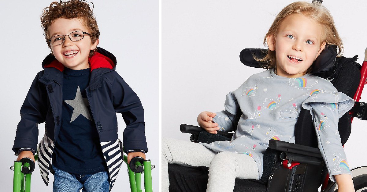 M&S launches 'easy dressing' range for children with disabilities