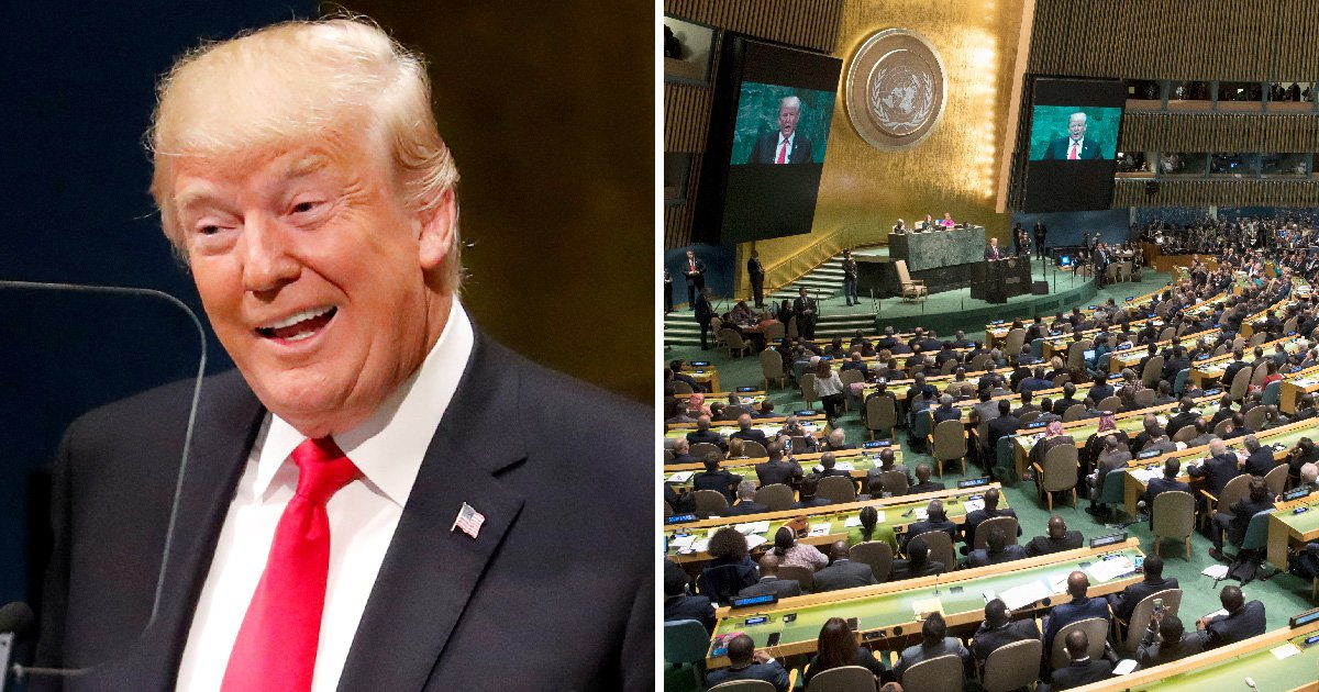 World leaders laugh openly at Donald Trump during UN summit