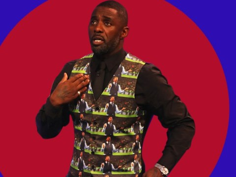Idris Elba pays homage to Gareth Southgate with one fancy waistcoat