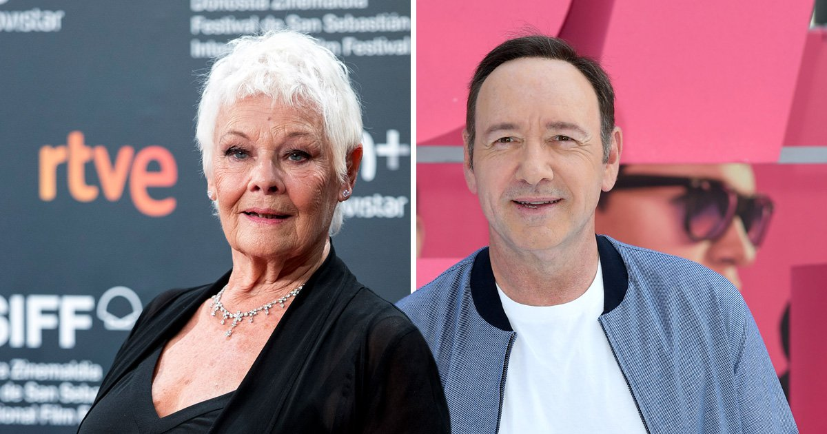 Judi Dench defends 'wonderful' Kevin Spacey as she slams decision to cut his roles
