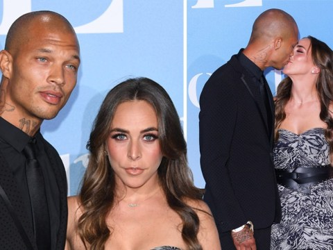 Chloe Green and Jeremy Meeks put on loved-up display as they return to social circuit after welcoming son