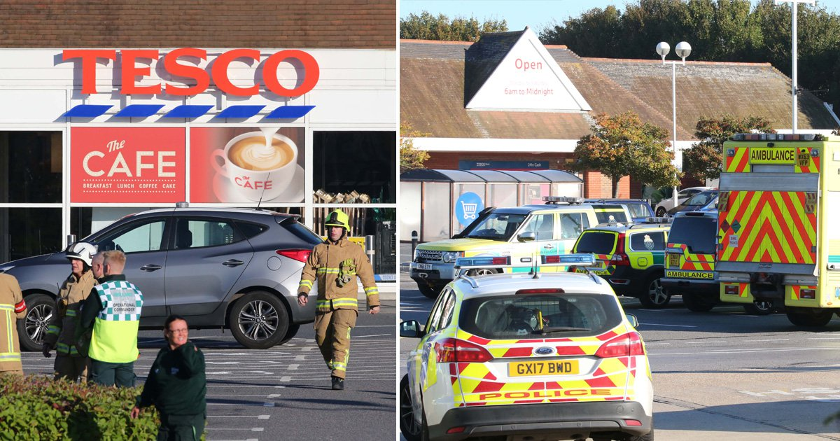 Tesco staff 'dropping like flies' after breathing in paint fumes