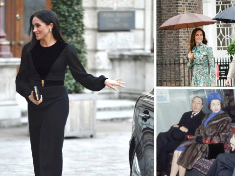 After Meghan Markle closed her own car door – proof Royal Family members have been fending for themselves for years