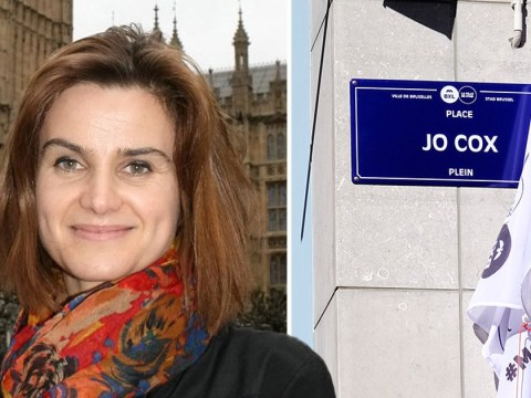 Jo Cox's family pay tribute to murdered MP as square in Brussels is named after her