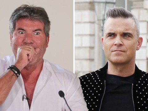 Robbie Williams was absolutely 'terrified' of X Factor's Simon Cowell after music mogul refused to sign Take That