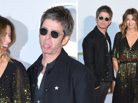 Noel Gallagher and wife Sara MacDonald looked so in love at the A Star Is Born premiere in London