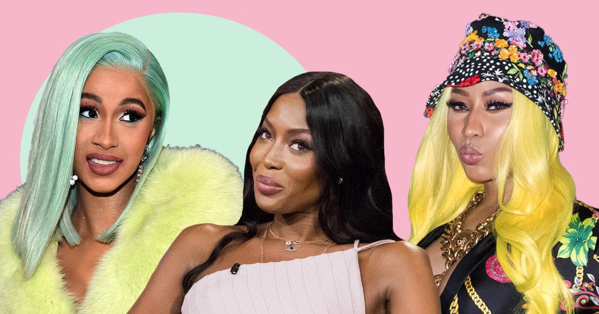 Naomi Campbell 'disappointed' by Nicki Minaj and Cardi B feud
