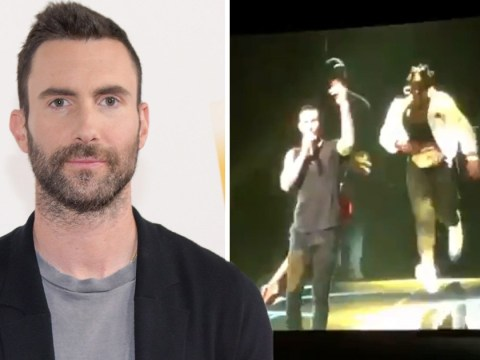 Maroon 5 fan arrested after rushing towards Adam Levine on-stage at concert