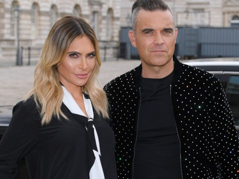 Ayda Field reveals son Charlie's health battle for first time as she presents along husband Robbie Williams