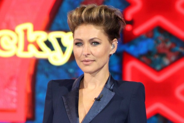 BOREHAMWOOD, ENGLAND - AUGUST 16: Host Emma Willis presents Celebrity Big Brother house at Elstree Studios on August 16, 2018 in Borehamwood, England. (Photo by Mike Marsland/Mike Marsland/WireImage)