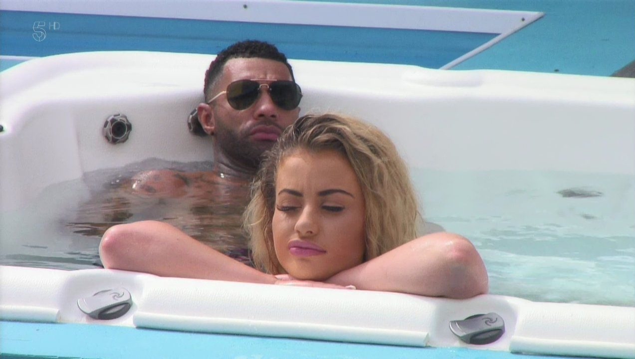 Chloe Ayling claims 'something physical' happened with Jermaine Pennant on Celebrity Big Brother