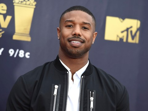 Michael B Jordan is gunning for Black Panther glory at the Oscars