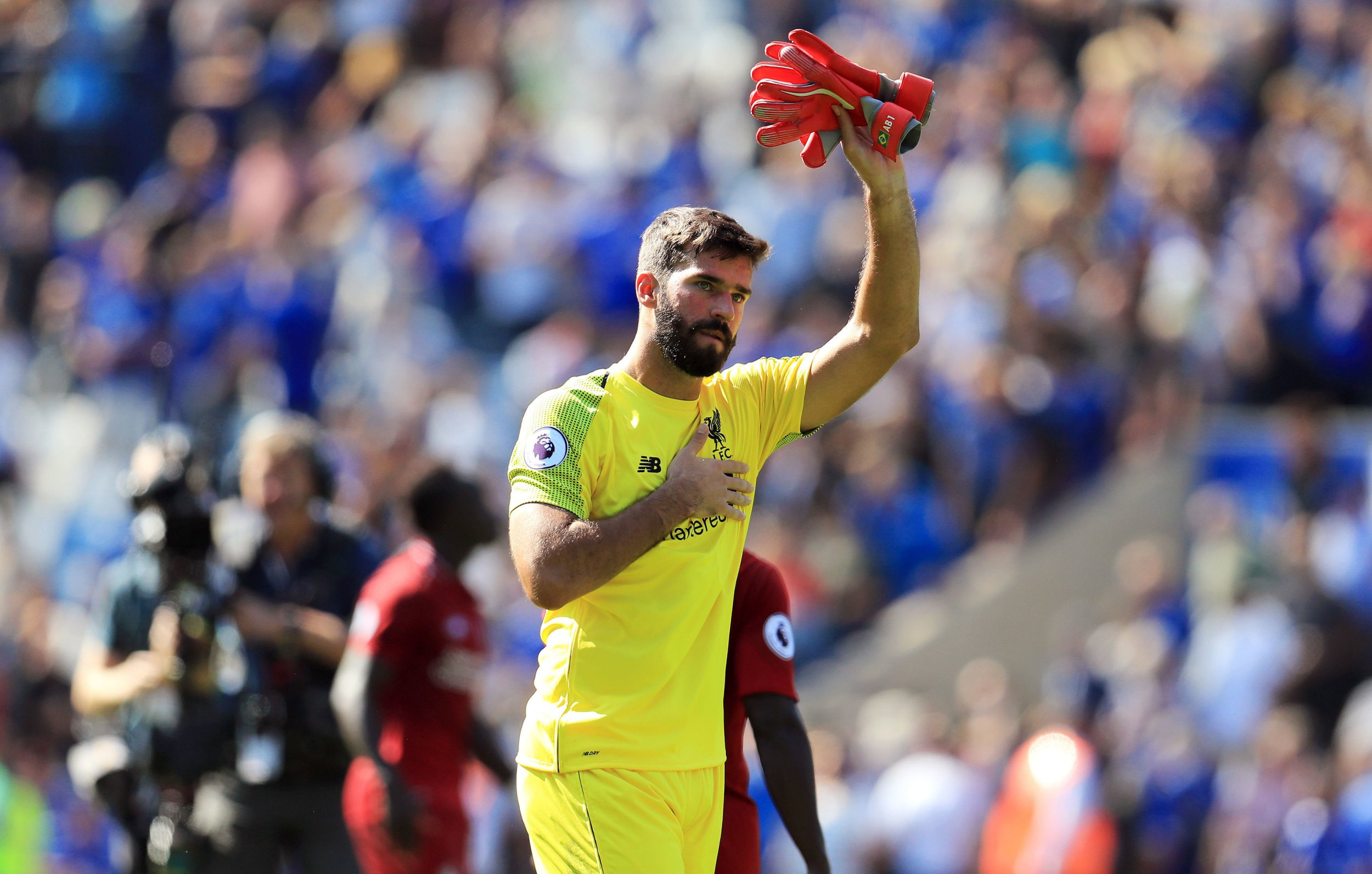 Alisson partly blames Virgil van Dijk for his mistake in Liverpool's win over Leicester City