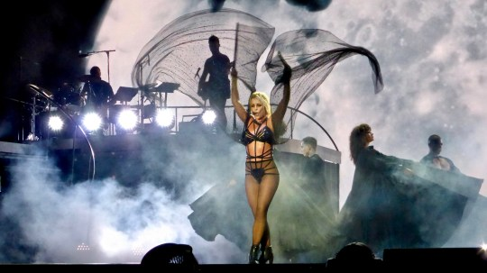 Britney Spears piece of me tour Blackpool Featuring: Britney Spears, Blackpool Where: Blackpool, United Kingdom When: 01 Sep 2018 Credit: WENN.com