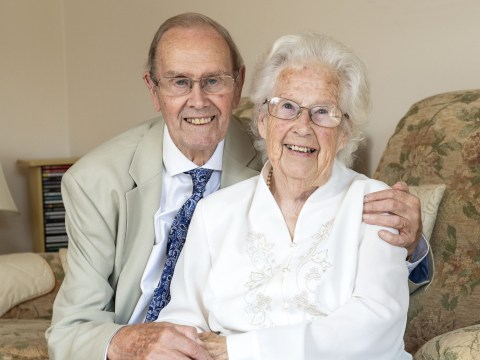 Couple who are both aged 80 get married and are now one of Britain's oldest newlyweds