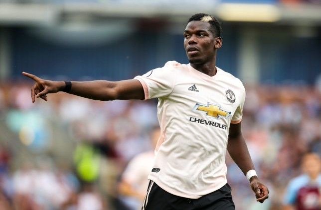 **IMAGE OUTSIDE OF SUBSCRIPTION DEAL, FEES APPLY** Strictly Editorial Use Only - No Merchandising. Mandatory Credit: Photo by Robbie Stephenson/JMP/REX (9843735cl) Paul Pogba of Manchester United Burnley v Manchester United, UK - 02 Sep 2018