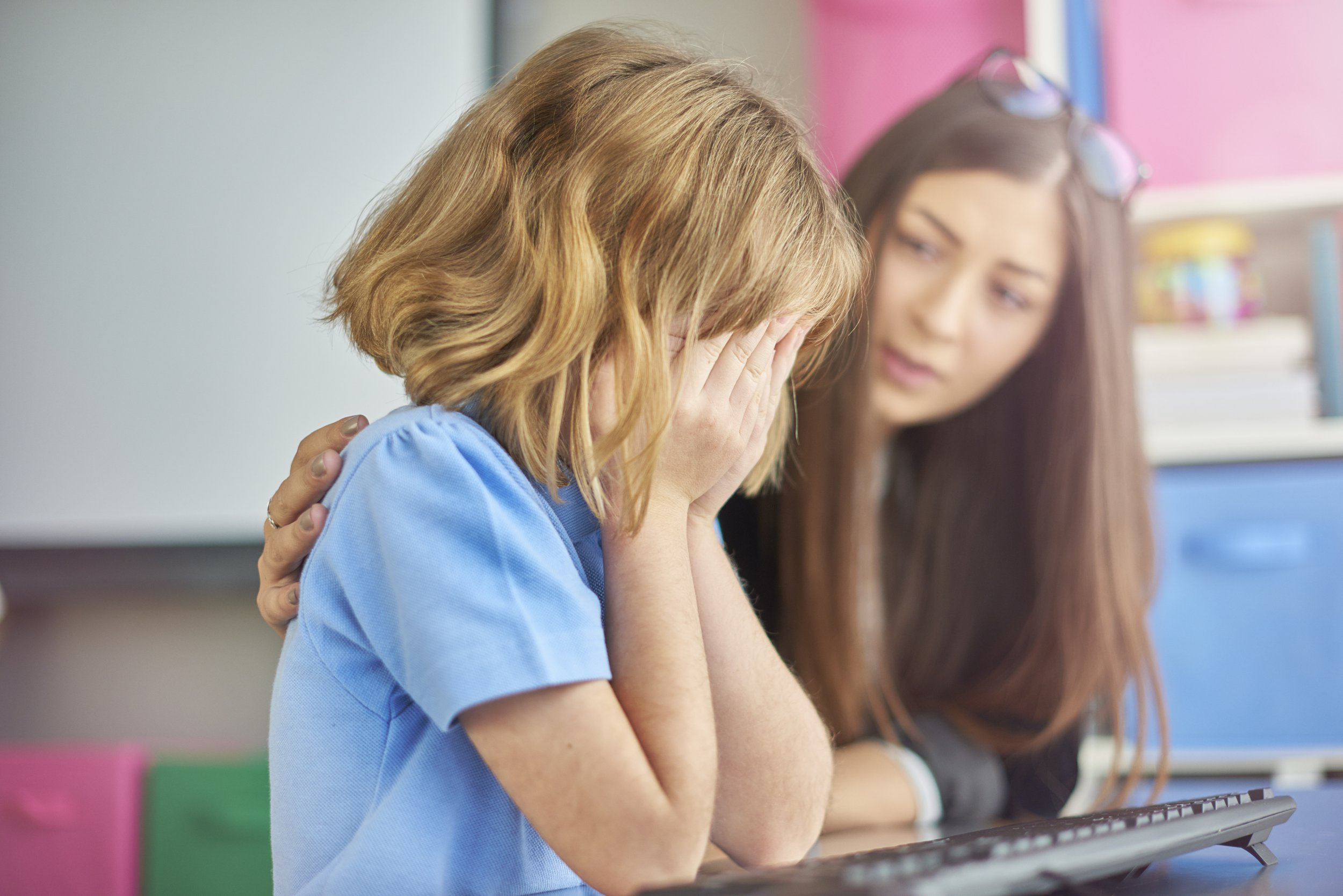 Half of children are frightened to go back to school because of bullying