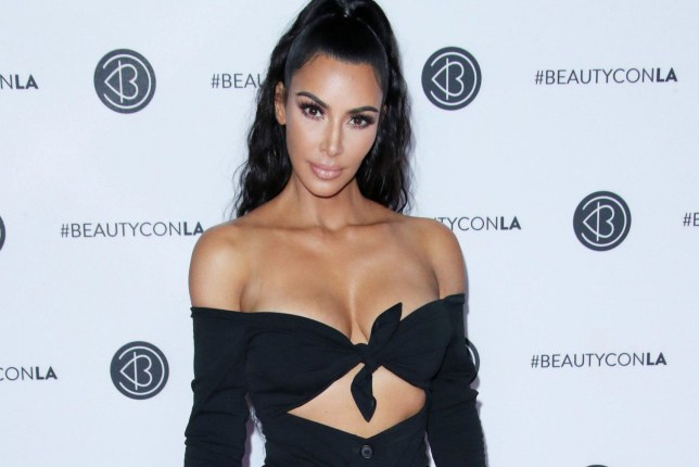 Mandatory Credit: Photo by Matt Baron/REX/Shutterstock (9762395du) Kim Kardashian Los Angeles Beautycon Festival, Day 2, USA - 15 Jul 2018 WEARING VINTAGE DOLCE AND GABBANA SHOES BY MERAH VODIANOVA