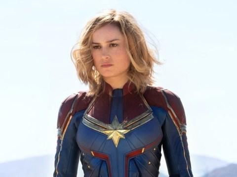 Brie Larson gives sneak peek of Captain Marvel to urge fans to vote
