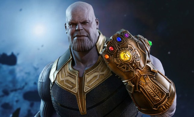 Picture: Marvel Chris Hemsworth tells Thanos to piss off in Marvel reunion?