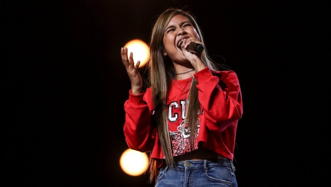 Maria Laroco, 17, gets X Factor judges emotional with