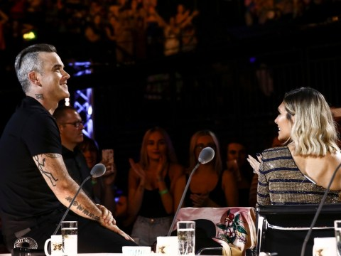 Robbie Williams gets his dad to take his place on The X Factor as he 'leaves panel'
