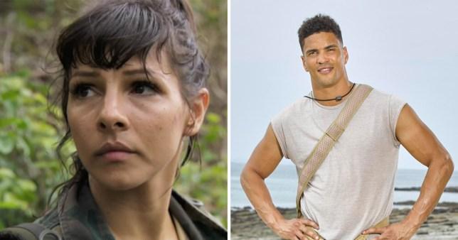 Celebrity Island with Bear Grylls: Anthoy Ogogo recalls Roxanne Pallett's fire horror as she quits show