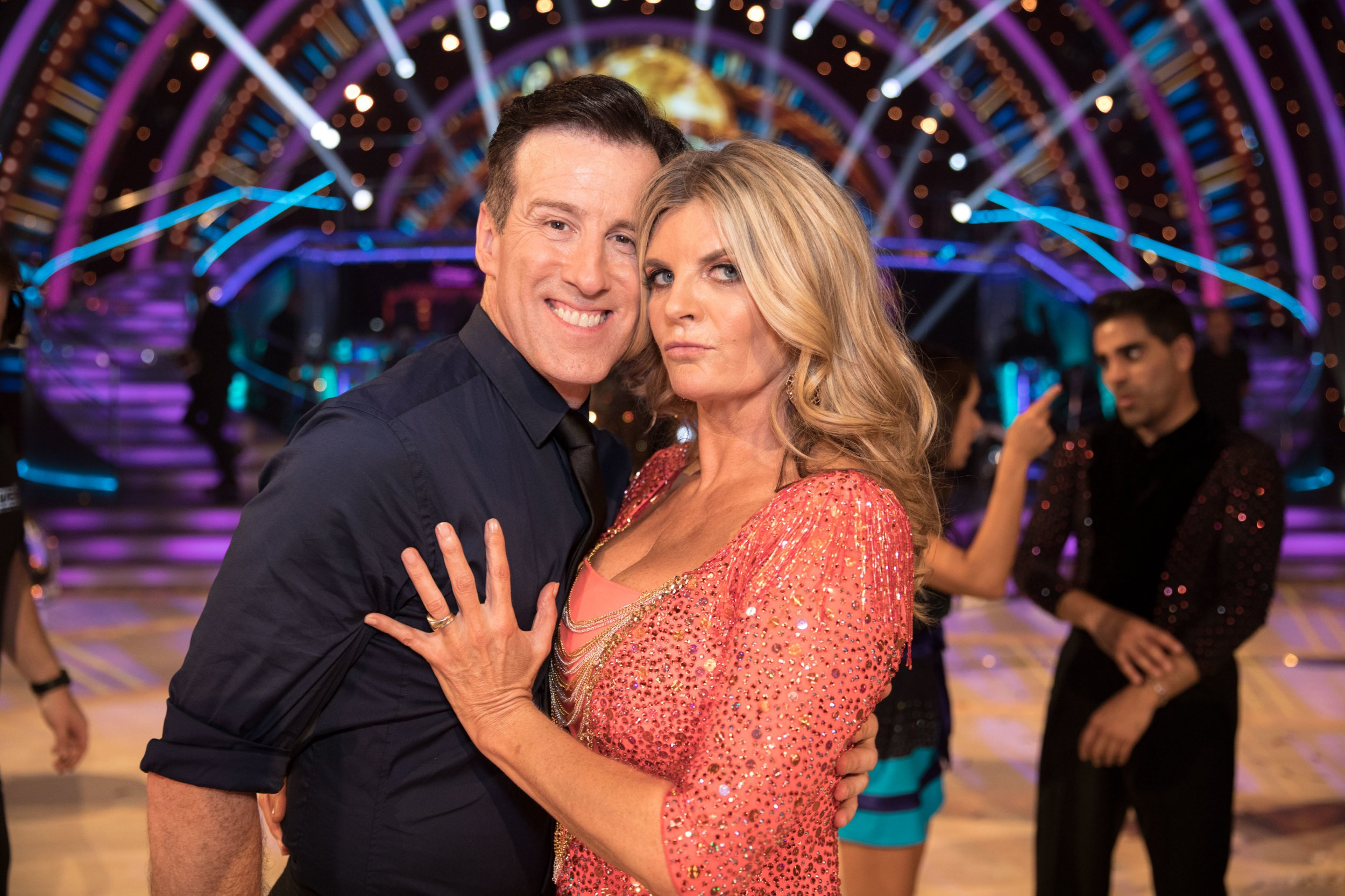 Susannah Constantine says 'bring on the Strictly curse' as she's partnered up with Anton Du Beke