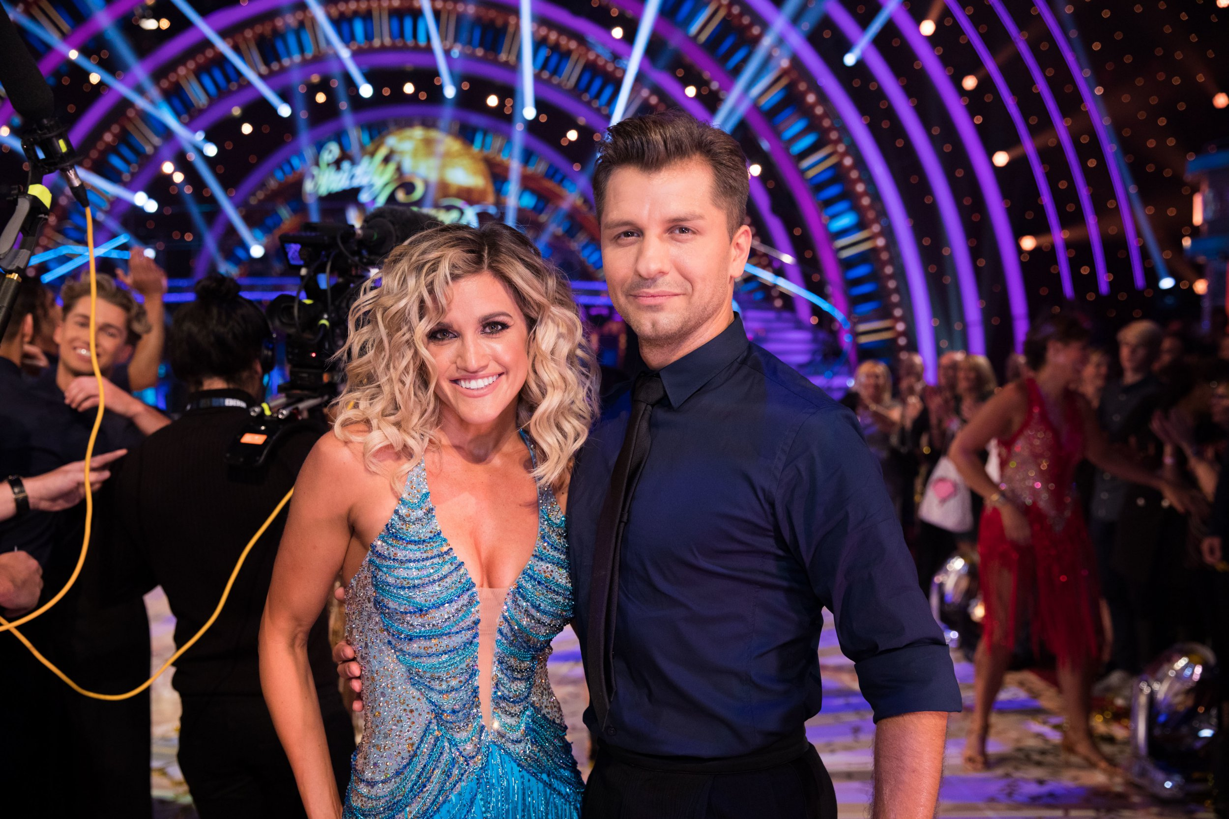 What are the Strictly Come Dancing songs and dances for week two?