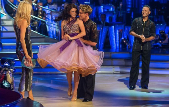 EMBARGOED TO 2100 SATURDAY SEPTEMBER 8 For use in UK, Ireland or Benelux countries only Undated BBC handout photo of Tess Daly (left) with Lauren Steadman and AJ Pritchard during the return of the BBC One show, Strictly Come Dancing. PRESS ASSOCIATION Photo. Issue date: Saturday September 8, 2018. See PA story SHOWBIZ Strictly. Photo credit should read: BBC/PA Wire NOTE TO EDITORS: Not for use more than 21 days after issue. You may use this picture without charge only for the purpose of publicising or reporting on current BBC programming, personnel or other BBC output or activity within 21 days of issue. Any use after that time MUST be cleared through BBC Picture Publicity. Please credit the image to the BBC and any named photographer or independent programme maker, as described in the caption.