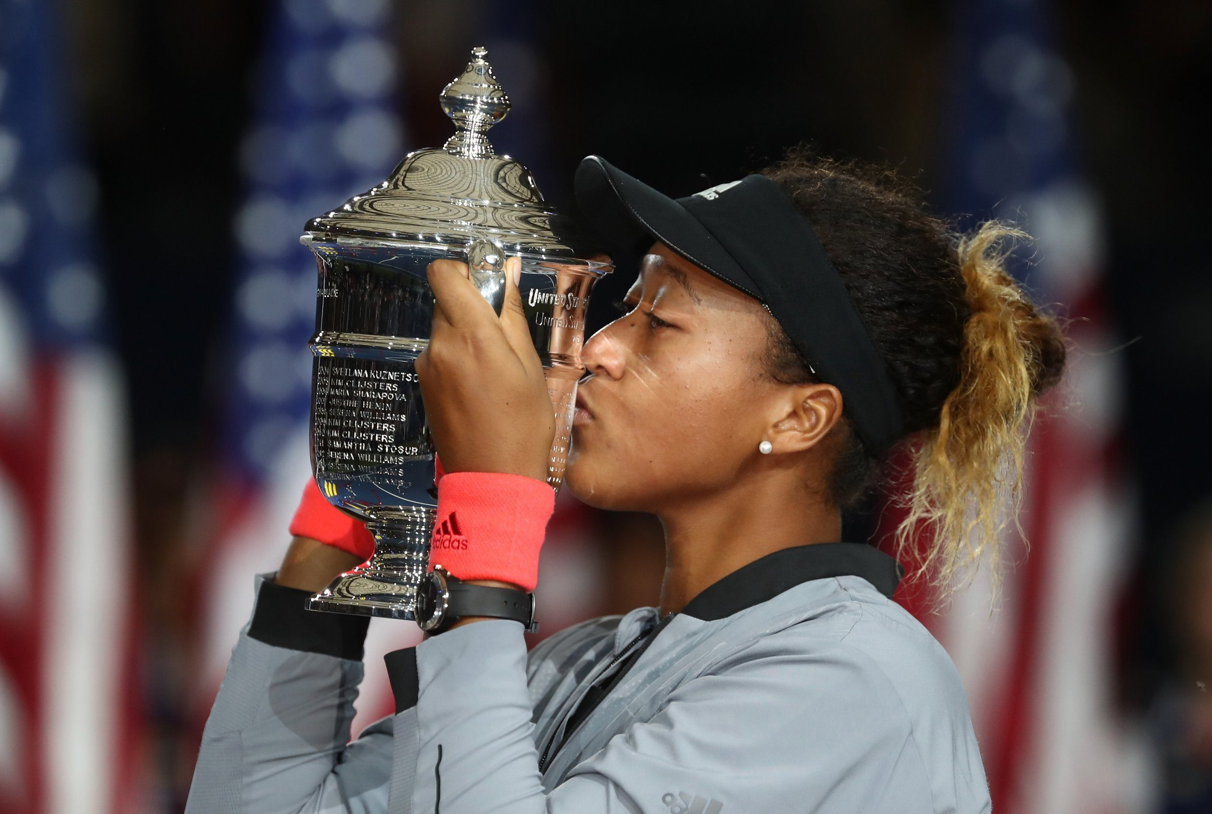 Naomi Osaka reacts to winning historic Grand Slam title in crazy circumstances against Serena Williams