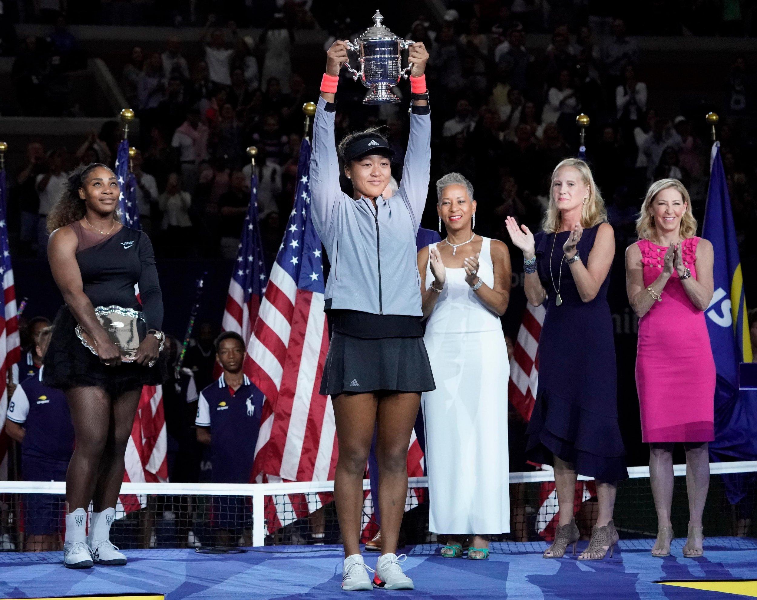 Naomi Osaka wins the US Open as furious Serena Williams has complete meltdown