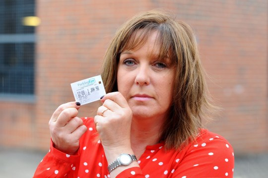 PICTURED: Motorist Julie Escott was stunned to be given a parking fine after she went for a haircut - and a car parking company claimed her two year old Mini had been left there for more than 20 years. Mrs Escott purchased a three-hour ticket to leave her 2016 Mini Cooper in a multi-storey car park, but was slapped with a ?60 fine for 'overstaying' because a faulty machine claimed she had left it there since 1998. Luckily the property developer had kept hold of her parking ticket, which had been printed with the date January 1, 1998 instead of July 5, 2018. A camera at the car park, on Bulbeck Road in Havant, Hants, takes picture of vehicles' number plates as they drive in. Motorists then key their registration into the ticket machine along with the time they want to stay for. ? Portsmouth News/Solent News & Photo Agency UK +44 (0) 2380 458800