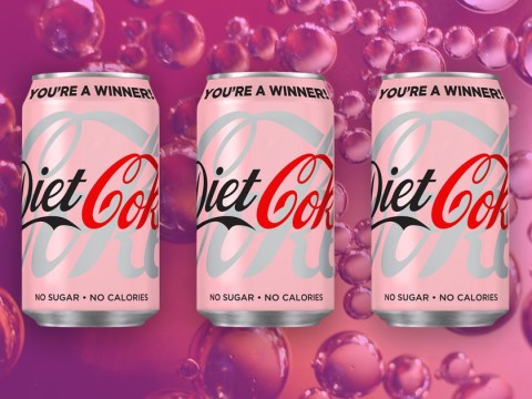 Coca-Cola launches pink cans of Diet Coke for Breast Cancer Awareness Month