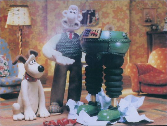 Film : The wrong trousers (1993) with Wallace and Gromit. . film project