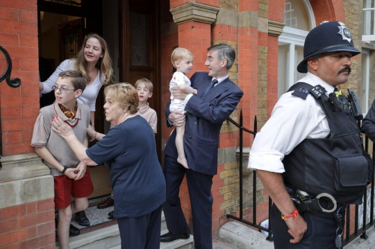 Class activist' tells Jacob Rees-Mogg's children 'your daddy