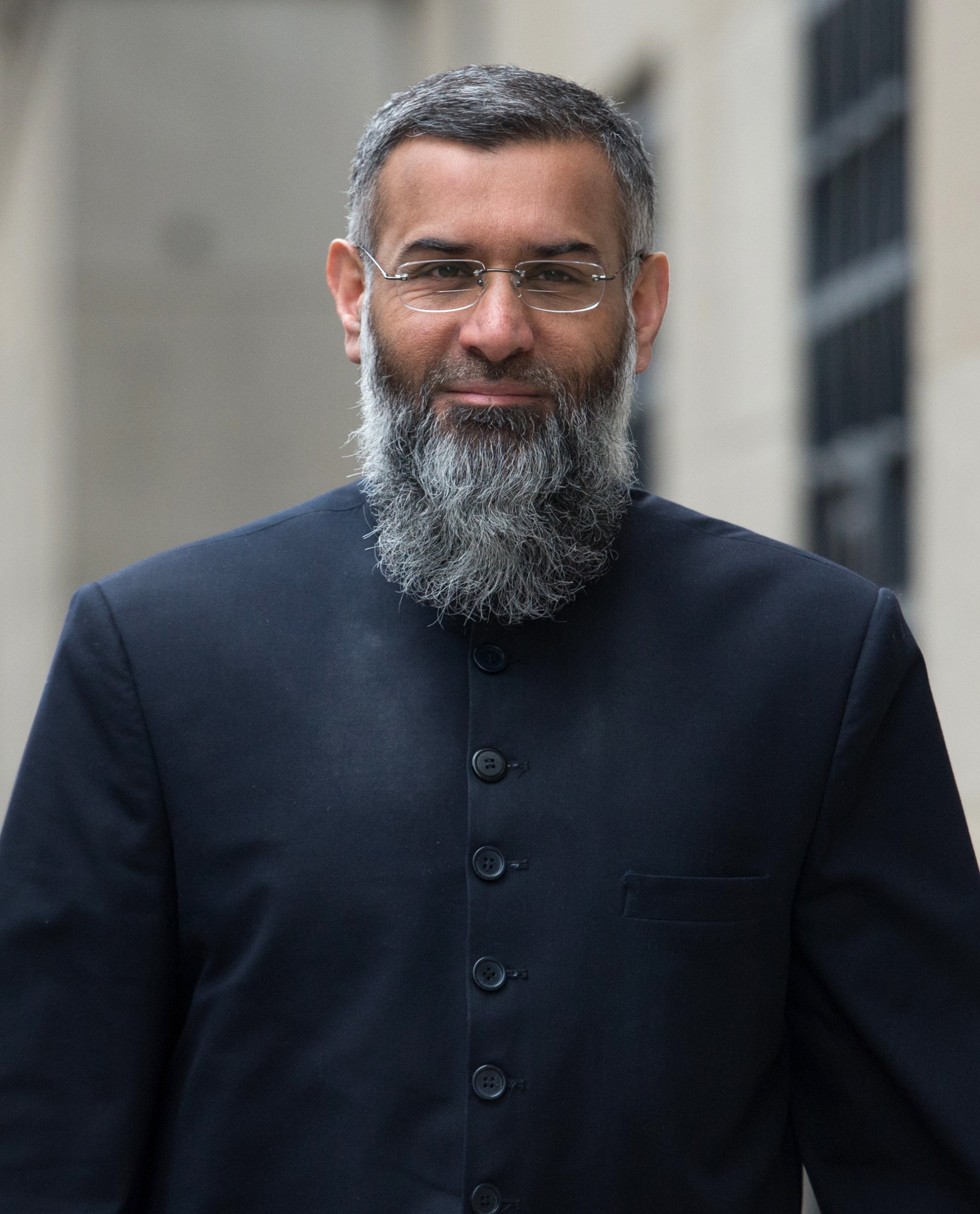 """File photo dated 24/03/16 of Anjem Choudary, who remains """"genuinely dangerous"""", the Prisons Minister has warned ahead of the Islamist hate preacher's release from prison. PRESS ASSOCIATION Photo. Issue date: Tuesday September 11, 2018. Rory Stewart assured that the """"completely pernicious"""" cleric would be watched """"very, very carefully"""" by police and security services when he is freed next month. See PA story POLITICS Choudary. Photo credit should read: Stefan Rousseau/PA Wire"""