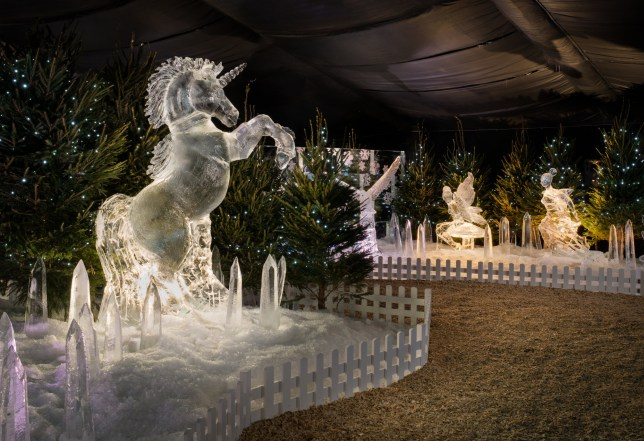 Britain's first ever Ice Village is coming to Manchester for Christmas 2018 Picture: MEN SENT IN VIA E-MAIL