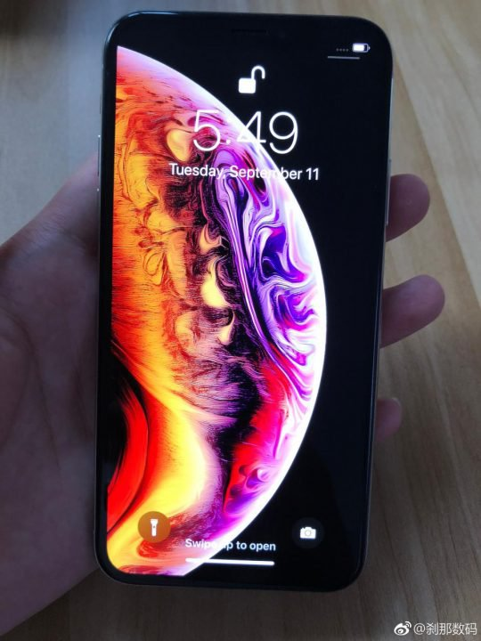 METRO GRAB - taken from Weibo account holder without permission Apple's iPhone XS breaks cover before unveiling as 'XS' and 'XR' names are confirmed https://www.weibo.com/5143897135/GySpl1bYR?from=page_1005055143897135_profile&wvr=6&mod=weibotime&type=comment#_rnd1536710527727 Weibo
