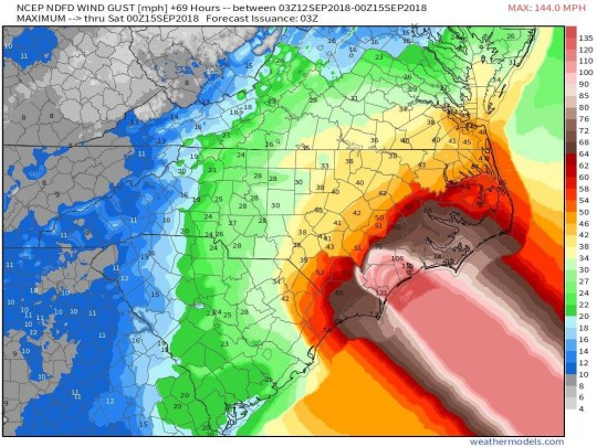 Hurricane map uses an unfortunate graphic to display devastation picture: National Hurricane Updates METROGRAB REF: https://www.facebook.com/NationalHurricaneUpdates/