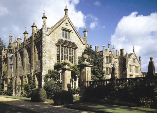 """FILE PHOTO - Parnham House in Beaminster, Devon. See story SWMANSION. A Grade I Listed country home gutted by fire in tragic and suspicious circumstances has been put on the market for ?3 million. Parnham House, near Beaminster, Dorset, was the family home of Michael Treichl, an Austrian-born financier who had spent 15 years restoring the Elizabethan pile. Last year the stunning and historic mansion was destroyed by a major fire. Mr Treichi was arrested on suspicion of arson but died two months later in Geneva. The home, described as being ?at risk? by Historic England, was this week put on the market with Knight Frank for ?3 million. Knight Frank wouldn?t discuss the 34,000sq/ft mansion, but they're calling it """"an opportunity of a lifetime""""."""