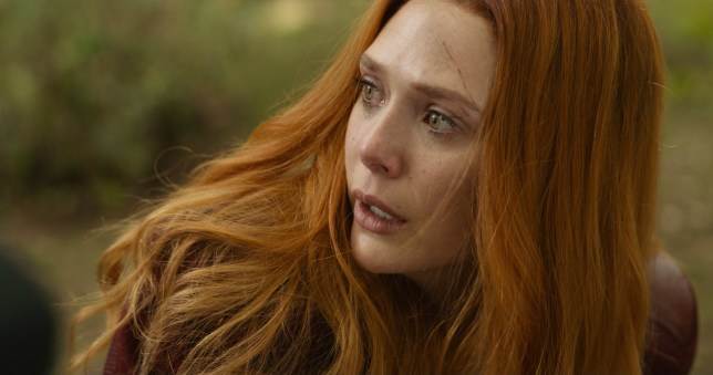 Scarlet Witch/Wanda Maximoff (Elizabeth Olsen).