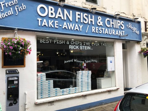 You can buy your very own chip shop for £850,000